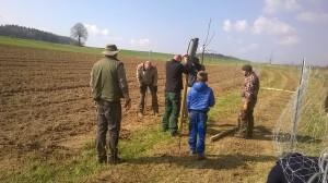 Jäger, Jagdgenossen und LBV im Einsatz für die Natur